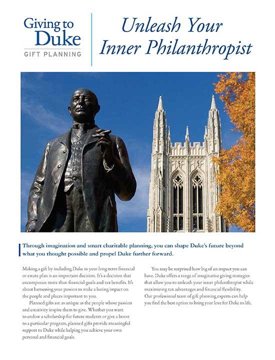 Legacy Giving to Duke