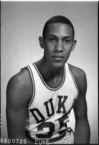 """Claudius Barrett """"C.B."""" Claiborne pictured in his sophomore year, 1966."""